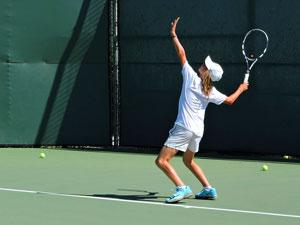 tennis lesson junior