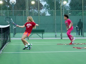 Footwork at Tennis Pro Zone